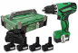 Mobile Preview: HiKOKI DS 10DAL Cordless drill 10,8 V