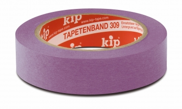 Kip wallpaper tape purple (Size: 24 mm x 50 m)