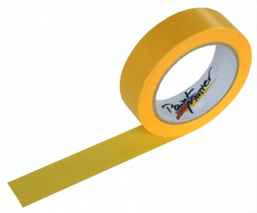 PaintMaster golden tape for indoor and outdoor use (Size: 18 mm x 50 m)